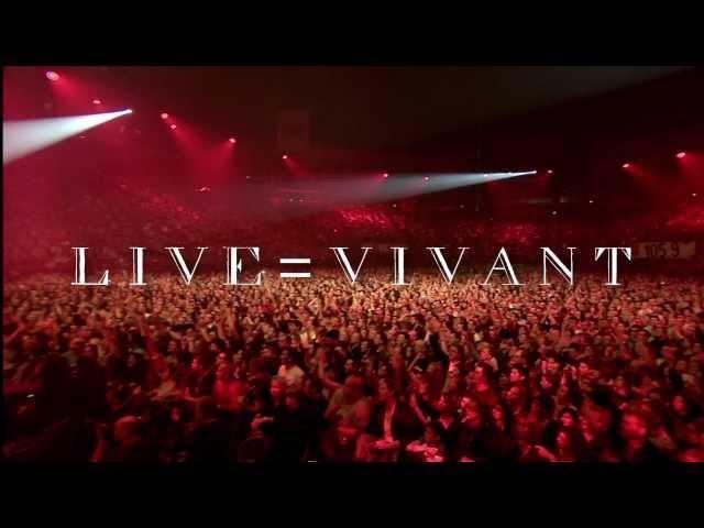 Jean-Louis Aubert -  LIVE=VIVANT (teaser)