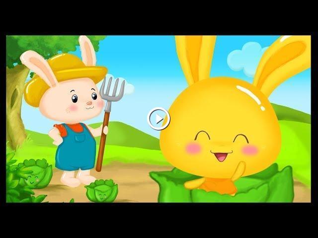 Mon petit lapin comptine des titounis - Mon petit lapin s est cache dans le jardin paroles ...