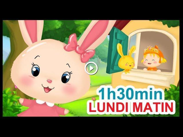 Lundi Matin Et 1h30 Min De Comptines Pour Enfants