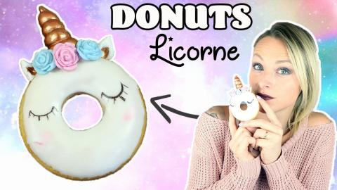 ♡• DONUTS LICORNE | RECETTE KAWAII •♡