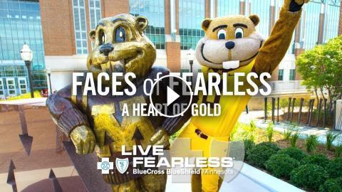 A Heart of Gold: Goldy Gopher