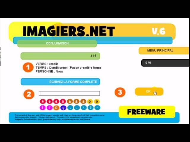 French For Kids Conji Flv700x394french For Kids Conjugaison Relever Flvugaison Etablir