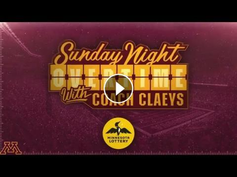 Sunday Night Overtime with Coach Claeys, Presented by the ...