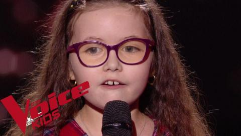 Serge Lama - Je suis malade | Emma | The Voice Kids France 2018 | Blind Audition